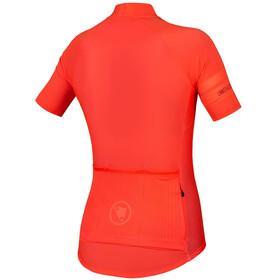Endura Pro SL II Maglietta A Maniche Corte Donna, hi-viz coral